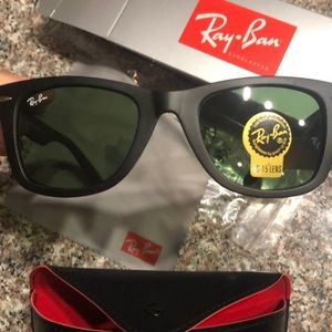 Ray Ban Black Aviators